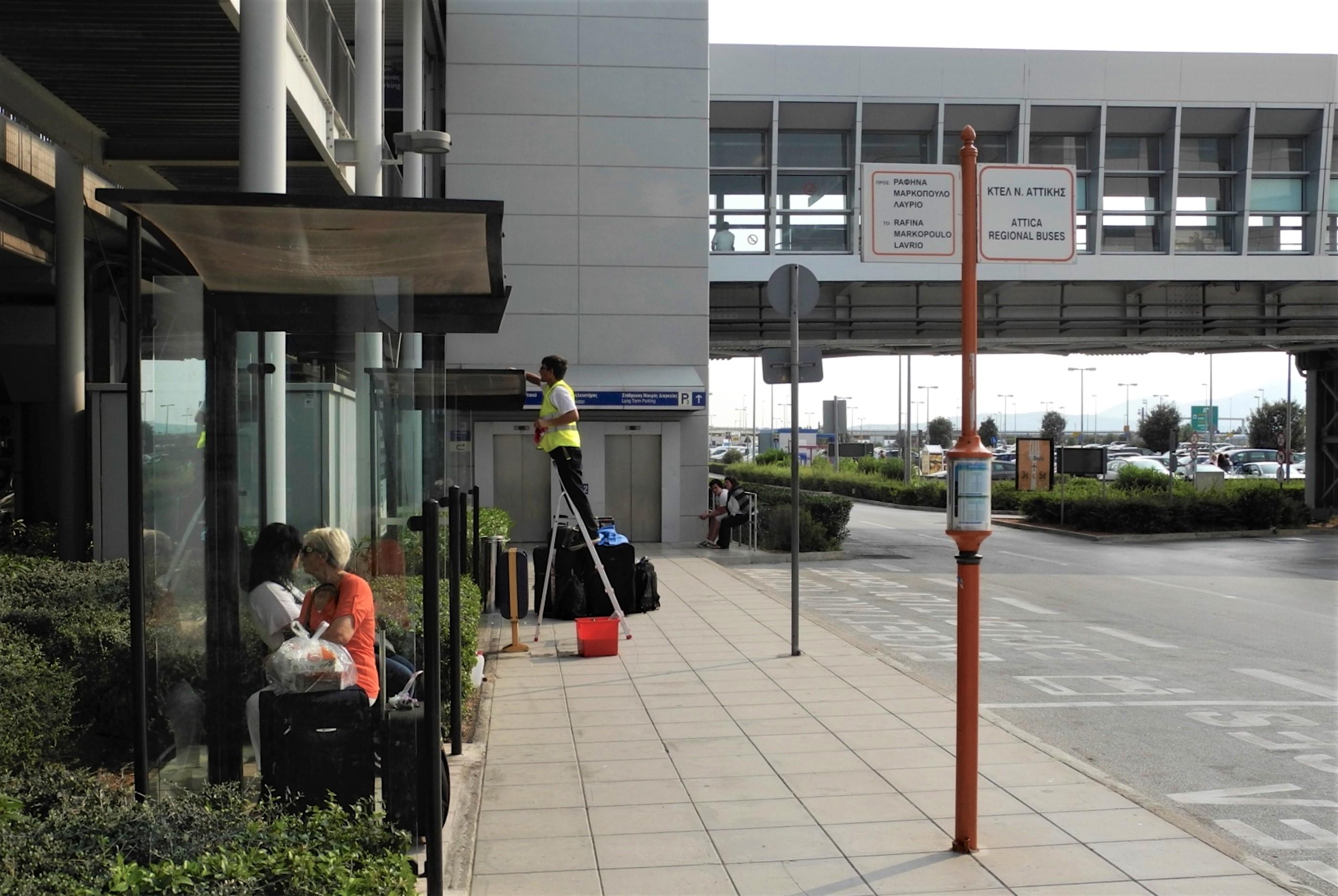 Αποτέλεσμα εικόνας για airport bus to lavrio